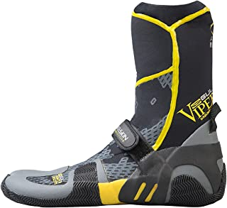 GUL Viper 5mm Split Toe Wetsuit Boots Boot Black Yellow - Super Flexible and Lightweight Neoprene Boot - Quick Dry