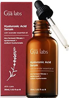 Hyaluronic Acid Serum - A Calming Touch of Lavender with Deep Hydration for the Skin (1 fl oz) – 100% Pure Hyaluronic Acid Serum for Face