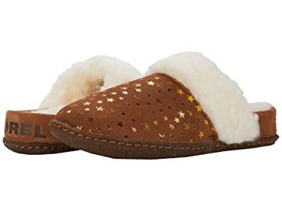 SOREL Kids Nakiskatm Slide II (Little Kid/Big Kid) (Velvet Tan) Girl