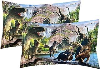 """ADASMILE A & S Unicorn Rainbow Pillow Case 2 Pieces Standard Size Pillow Cover, Unique Pillow Slip,20""""x27"""" 09"""