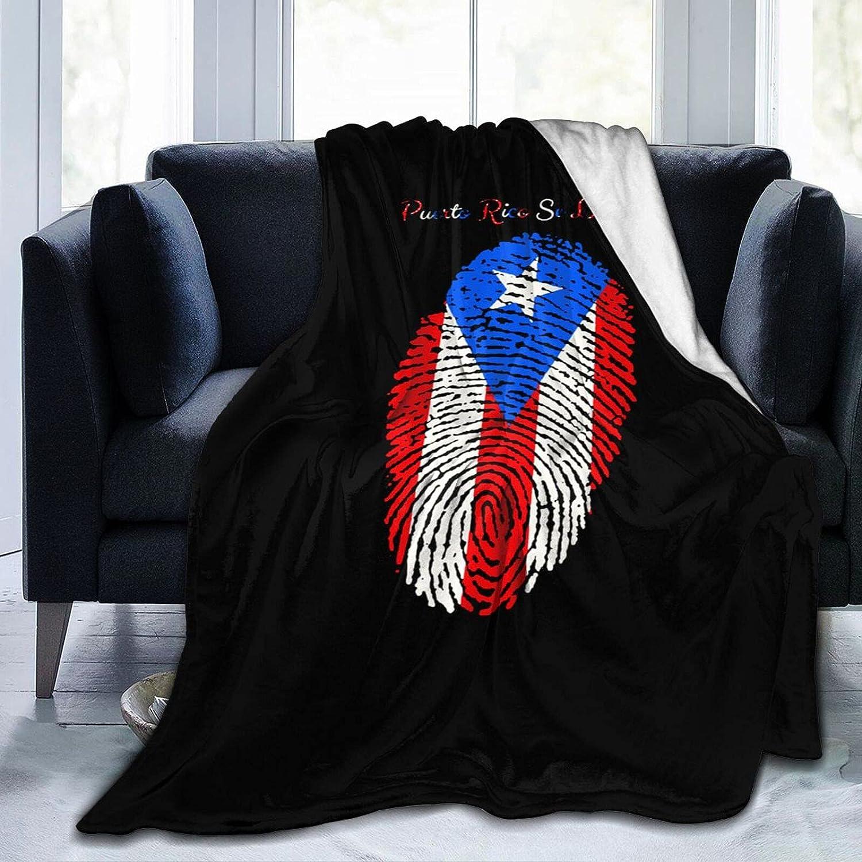 Puerto Rico Resiste Boricua Excellence Ultra-Soft 70% OFF Outlet Fleece Wool Blanket Micro