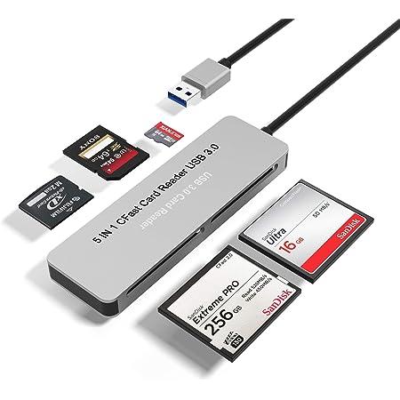 Bawanfa Cfast Card Reader 5 In 1 Cfast 2 0 Memory Card Computers Accessories