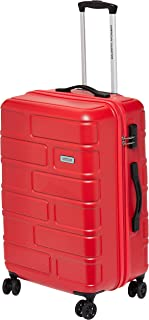 American Tourister Bricklane Hard Medium Luggage trolley bag, Red, 68cm Spinner