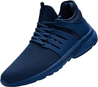 DYKHMILY Waterproof Safety Trainers Men Women Steel Toe Cap Safety Shoes Lightweight Breathable Work Trainers Puncture Pro...