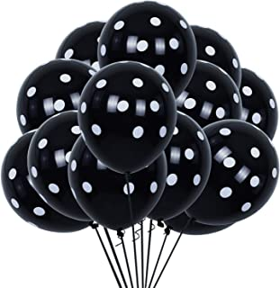 Best black polka dot balloons Reviews
