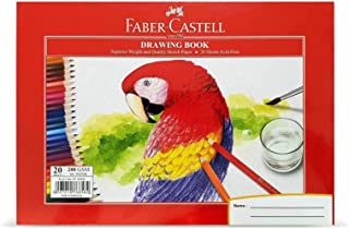 Faber-Castell Drawing Book A4 200Gsm 20 Sheets