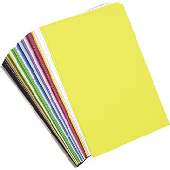 """Darice Foamies Foam Multipack – Assorted Vibrant Colors – for Craft Projects with Kids, Classrooms, Camps, Scouts, Parties – 6"""" x 9, 40 Sheets Per Pack, 6"""" x 9"""" (Pack of 40), Count"""