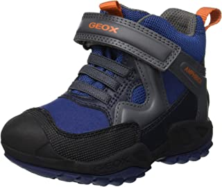 Geox Jongens J New Savage Boy B A hoge sneakers