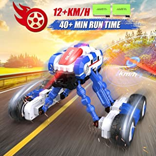RC Stunt Car for Kids Remote Control Car Crawler, 360°Spinning High Speed RC Stunt, 4WD Vehicle Hobby Toys, 2.4G Controlle...
