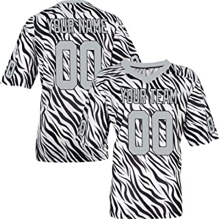 de0bbebb0 Custom Football Jerseys for Men Women Youth Embroidered Any Name and  Numbers S-8XL -