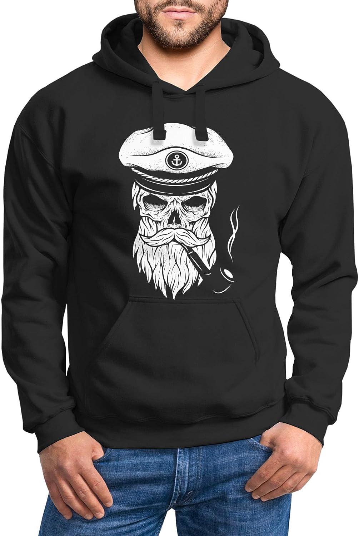 Neverless - Sweat-Shirt à Capuche - Homme Schwarz
