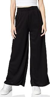 Urban Classics kvinnor Byxor Ladies Modal Terry Wide Leg Sweatpants