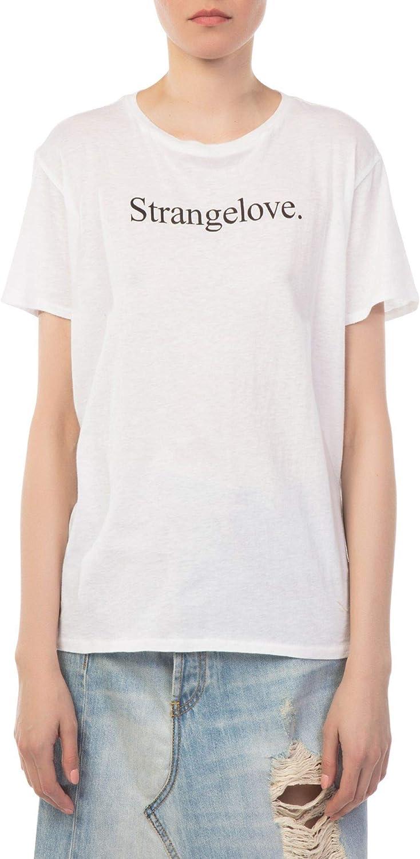 R13 Women's R13W365104 White Cotton TShirt