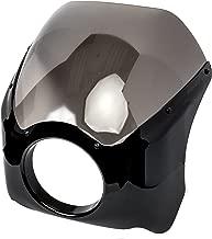 Krator Black & Smoke Headlight Fairing Windshield Kit for Honda Shadow Aero Phantom VLX 750 1100