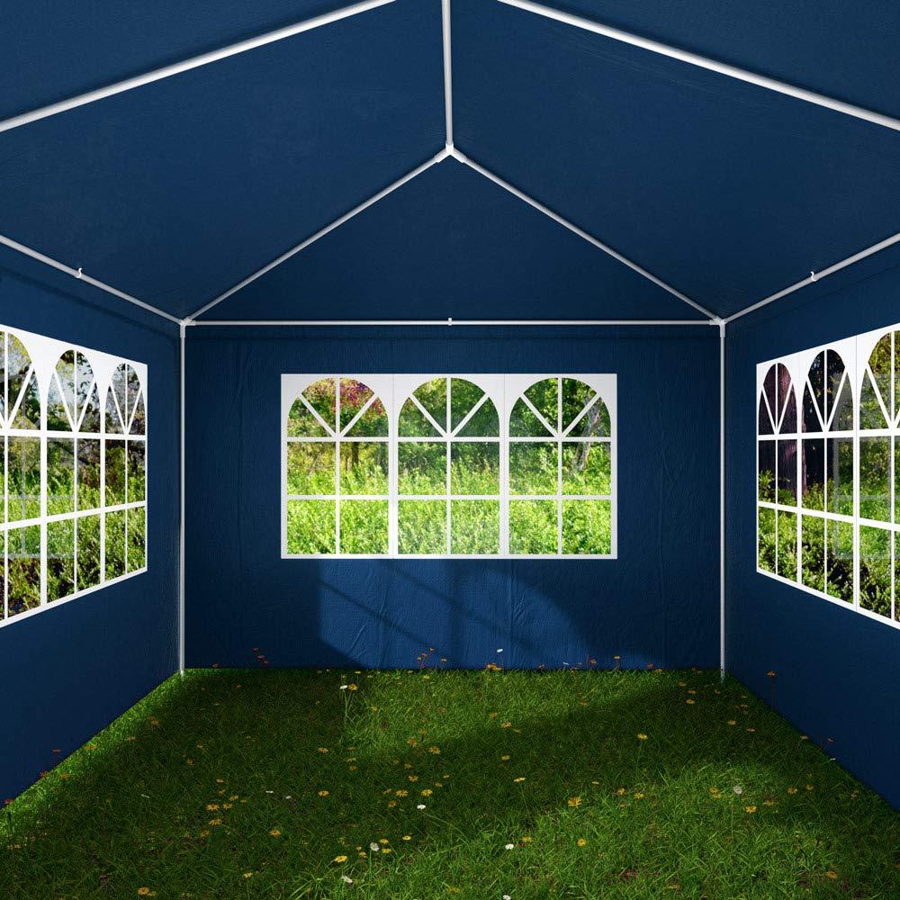 Deuba Pabellon Rimini 3x6m | 18m² | Protección UV 50+ | Resistente ...