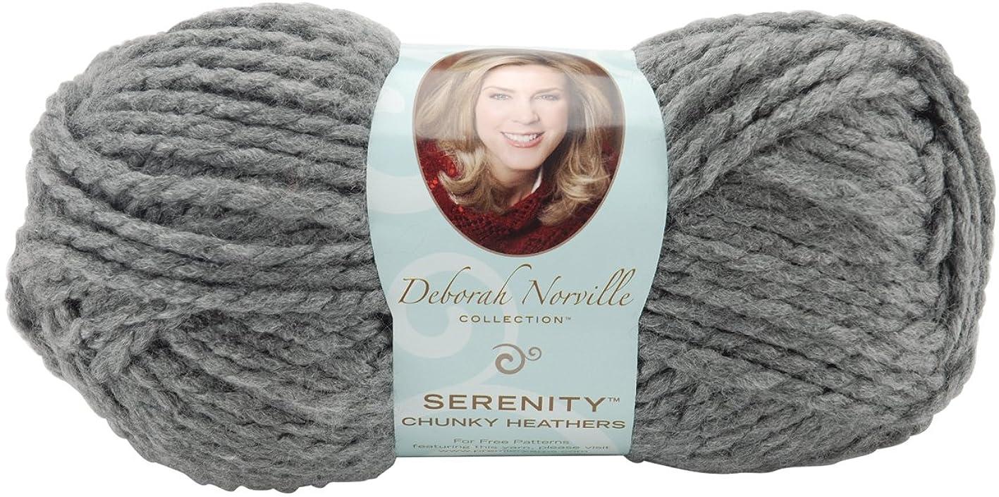 Premier Yarns Deborah Norville Collection Serenity Chunky Weight Heathers Yarn: Smoke xdukqcldmuz849
