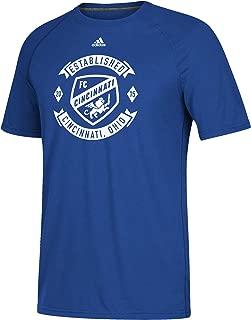 adidas FC Cincinnati Men's Ultimate Logo Blue T-Shirt