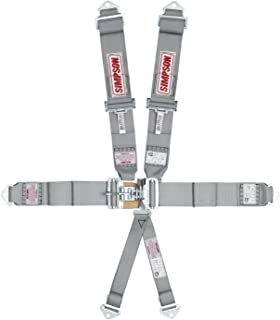 Simpson Racing 29073SP Latch F/X Platinum Pull-Down Bolt-in 6 Point Harness System