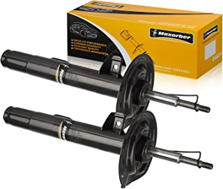Maxorber 2pcs Front Set Shocks Struts Absorber Kit Compatible with BMW 740i 1995-2001 Replacement for BMW 750il 94-01 Shock Absorber 335906 335907