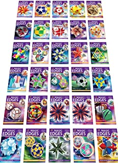 Polyhedra Full Collection. Magic Edges - Set #1. Polyhedra 3D Paper Model Kits. All Issues from The 1-st to The 30-th.