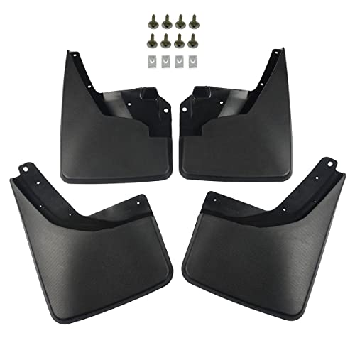 A-Premium Splash Guard Mud Flaps Mudflaps for Hummer H3 2006-2010 Front and