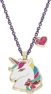 "Jojo Siwa Unicorn with Heart Charm Pendant Necklace, 16""+3"""