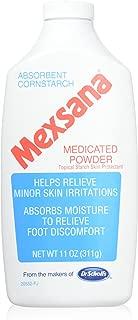 Mexsana Medicated Antiseptic Powder - 11 Oz (Pack of 6)