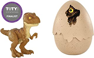 Jurassic World Hatching Tyrannosaurus Rex with Spring Loaded Action, T-Rex Hatches Again & Again, Hatch'N Play Dino TRex New in Box Ages 3+