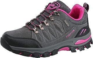 MASHAN Hiking Shoes for Women Outdoor Sports Climbing Hiking Shoes Waterproof Trekking Sneakers Walking Sneakers for Women