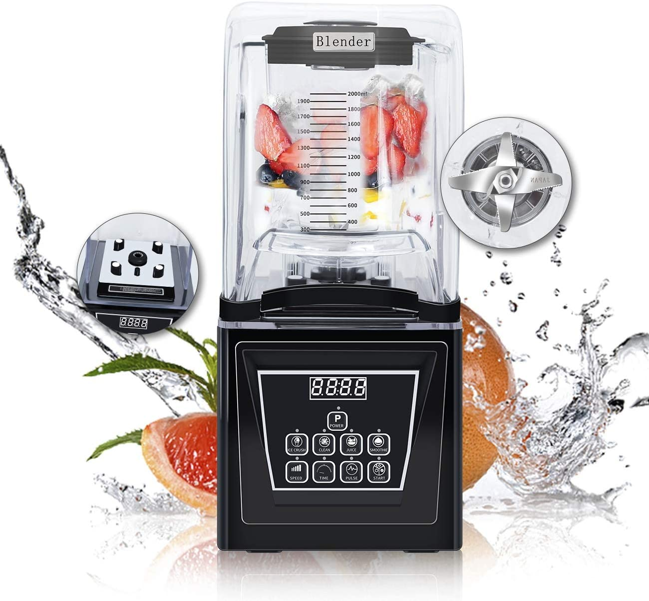Wantjoin Commercial and home Professional Blender