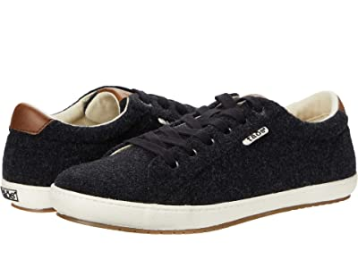 Taos Footwear Star Burst (Black/Tan Wool) Women