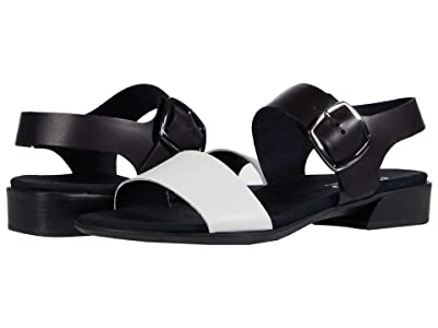 Munro Cleo (White/Black Combo) Women
