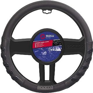 SPARCO Universal Steering Wheel Cover 38cm, SPS101BK, Black