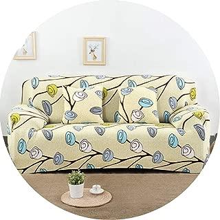 Universal Sofa Cover Big Elasticity Cover Stretch Sofa Slipcover,Sofa Cover 11,Cushion Cover 40X40