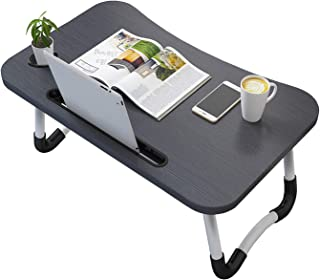 Vasen Mesa Ordenador Portátil Plegable Mesa lapdesks Ajustable para portátil Mesa Cama Ergonómico Bandeja para Desayuno 70...