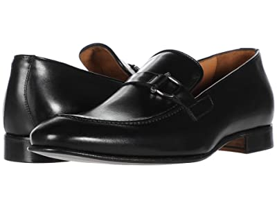 Massimo Matteo Buckle Slip-On (Black) Men