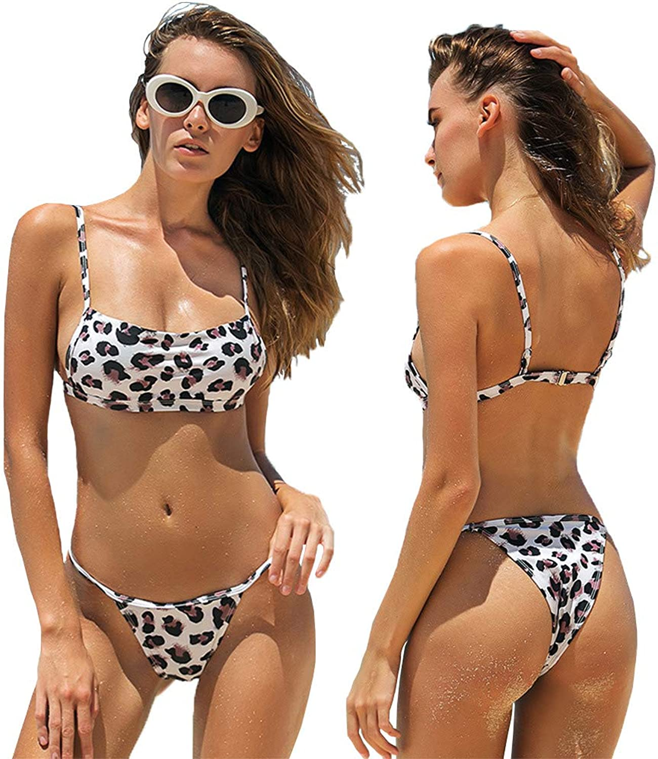 Women Swimwear Set PushUp Padded Bra Beach Bikini Set Swimsuit Sexy Swimwear