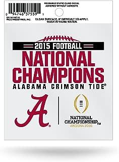 Rico Industries NCAA Unisex NCAA 2015 CFP Champ Small Static Cling