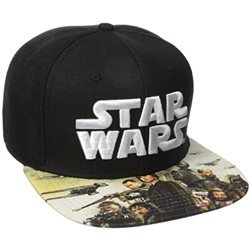 77cfc64b6dc Bioworld Men s Star Wars Rogue One Sublimated Bill Snapback Cap