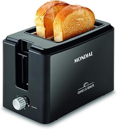 Toast Due 127V MONDIAL T05 Preto MONDIAL Toast Due Black Preto 110V