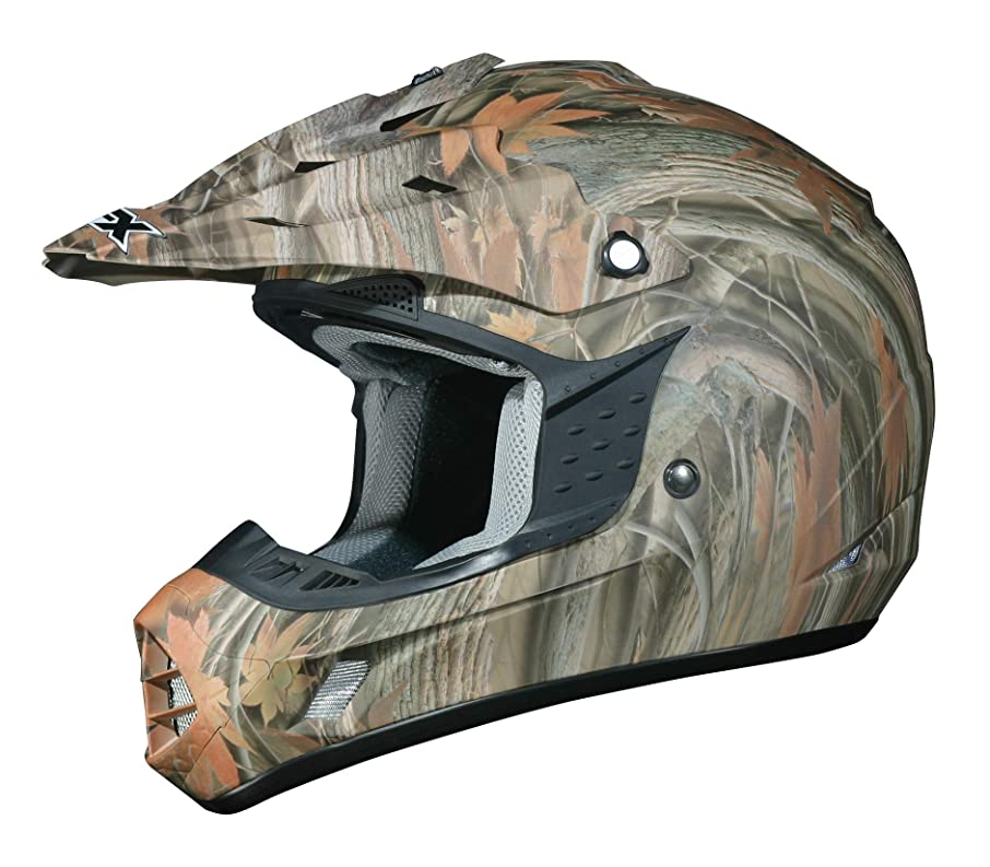 AFX FX-17 Unisex-Adult Off-Road-Helmet-Style Helmet (Camo Multi, X-Large)