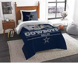 Northwest NFL Dallas Cowboys Draft Twin Bedding Comforter Set