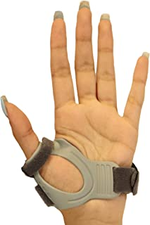 CMC Joint Thumb Arthritis Brace - Restriction Stabilizing Splint for Osteoarthritis and Other Thumb Pain Relief - Medium - Left Hand