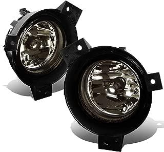 For Ford Ranger Pickup Pair of Bumper Driving Fog Lights (Smoke Lens)