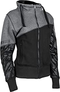Speed & Strength Women's Cat Out'a Hell 2.0 Armored Hoody (Small) (Black/Grey)