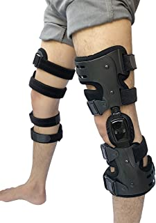 featured product Orthomen OA Unloader Knee Brace for Arthritis Pain - Lateral Off Loading Support - Size: Universal/Left(Black)