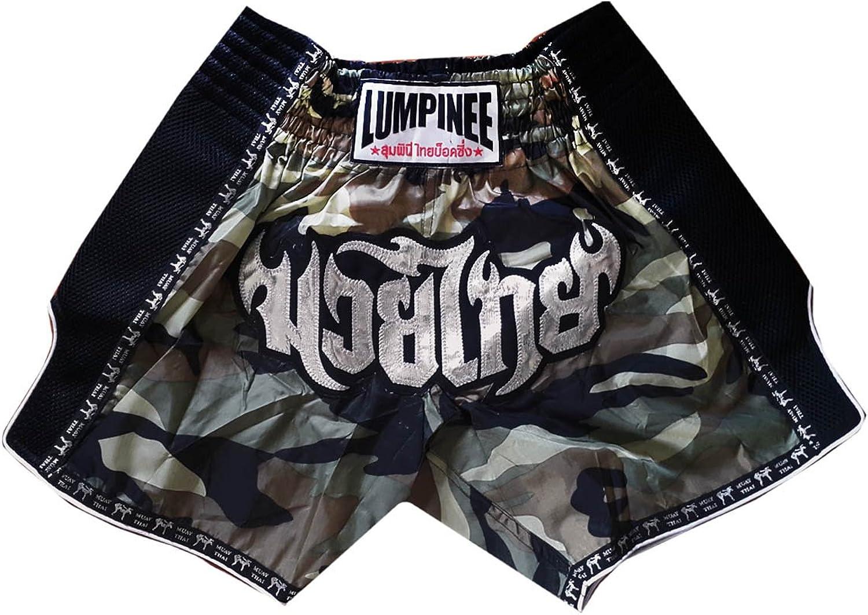 Lumpinee Retro Muay Thai Kick Boxen Hose Shorts     LUMRTO-003-Camo Größe S B01E747AKW  Schnäppchen ddd0a1