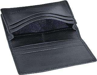 RFID Mens Slim Front Pocket Wallet Genuine Leather Bifold ID/Credit Card Holder