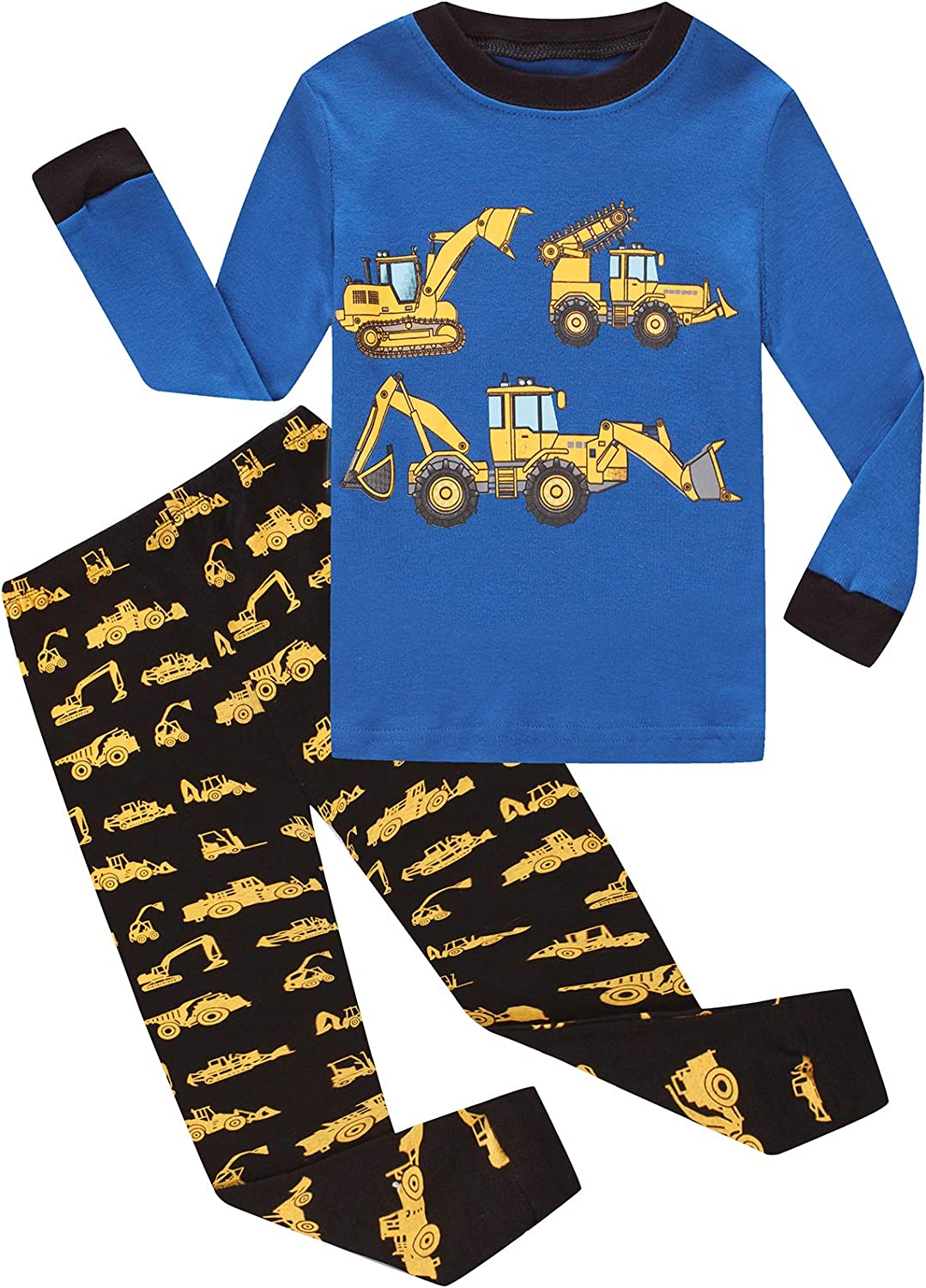 DolphinFish Boys Pajamas 4Piece Max 74% OFF Toddler Kids Cotton Pjs Inexpensive To Sets
