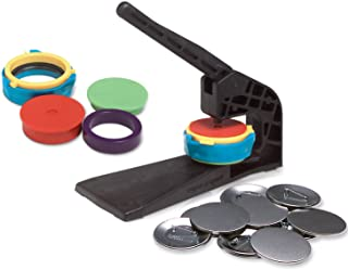 """Badge-A-Minit 1401 2 1/4"""" Badge-A-Minit Button Machine Bench Press Kit with Button Parts"""
